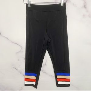 PE Nation | Striped Ankle Cropped Legging